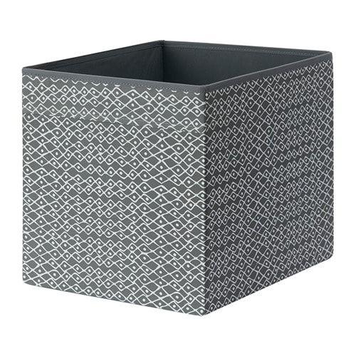 DRÖNA Box Grey/white Patterned IKEA In 2019