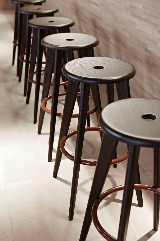 Jean Prouvé bar stool.