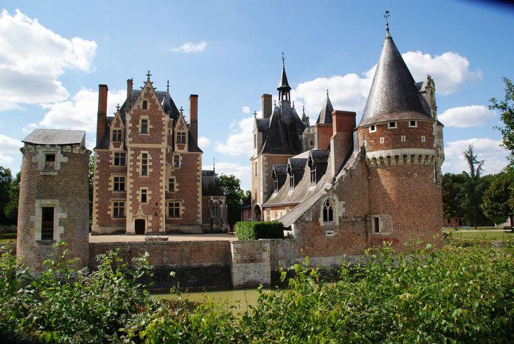 """Le Château du Moulin, """"Perle de la Sologne""""   Flickr - Photo Sharing!"""