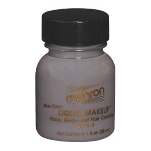 Mehron Liquid Face Paints - Monster Grey GY (1 oz) by Mehron. $4.71. Each 1 ounce bottle comes with its own applicator brush.. Perfect for full body painting or for getting things moving quickly with crowds at events and carnivals.. Mehron Liquid Face paint is water based and can be applied with a brush, sponge or an airbrush.. Each 1 ounce bottle of Mehron Monster Grey Liquid Face Paint will work for 20-70 applications.. Mehron face paints are made with FDA approve...