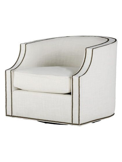 Willow Swivel Club Chair by Gabby Home at Gilt