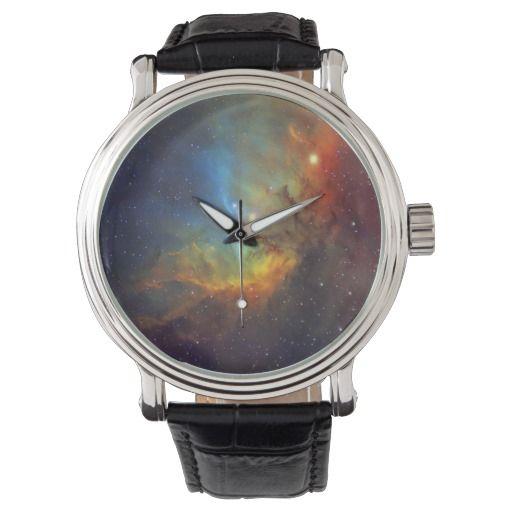 Tulip Nebula wrist watch