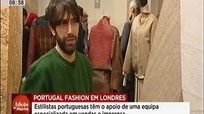 Dupla investida do Portugal Fashion em Londres by SIC Notícias