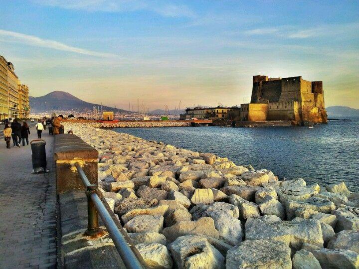 Lungomare di Napoli nel Napoli, Campania
