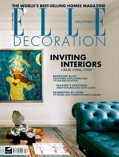 ELLE Decoration Philippines November 2014
