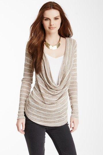 Sacheon Draped Front Sweater by TART on @HauteLook