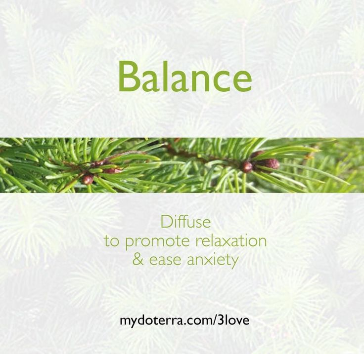 I like to diffuse Balance Blend of an evening or in the morning. mydoterra.com/3love