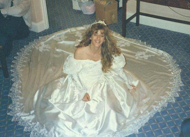 "Wedding Dress Brent Cross London 1992 ""Vicki"""