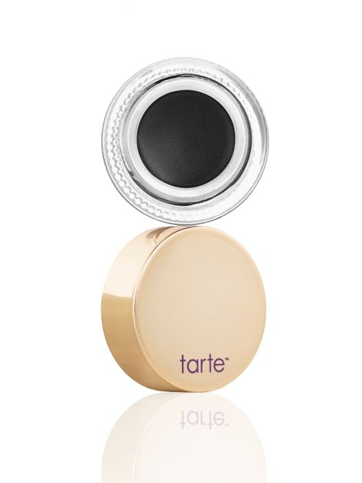tarte's fan favorite clay pot waterproof liner in luxe, re-imagined packaging.  Create a crisp, thin line or a dramatic cat eye with tarte's etch & sketch double-ended bamboo liner brush.