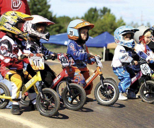 Парад юных велосипедистов в Уфе!
