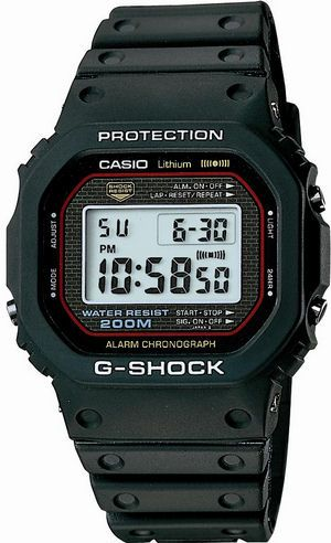 RunPlusDesign: mobile lifestyle, running and design: Stuff I love: first g-shock ever (G-SHOCK DW 5000C, the first shock resistant watch) / lack of motivation for new year plans
