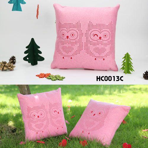 twin owl pillow - 2087bags.com