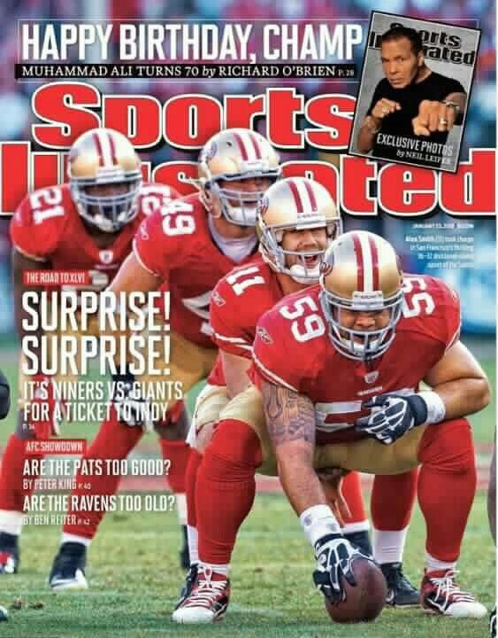 SI cover, 49ers