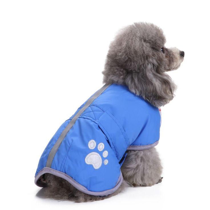 2017 dog-winter-clothes Cold Weather funny clothesDog Vest with Reflective Lining clothing dog dog life vest Both sides wear #Affiliate