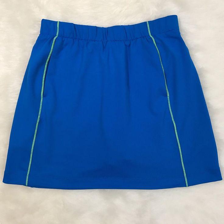 NIKE GOLF DRI-FIT BRIGHT BLUE SKORT Tennis Golf Skirt Shorts Pockets SMALL (4-6)  | eBay
