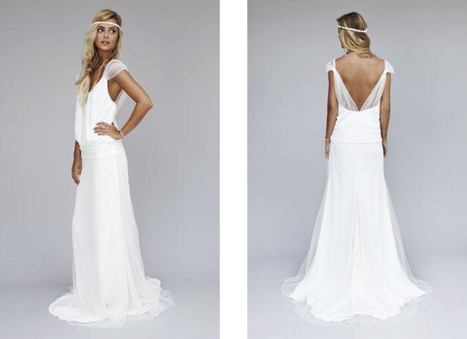 Robe de mariée Rime Arodaky - Lookbook 2013 - Modèle Ibiza