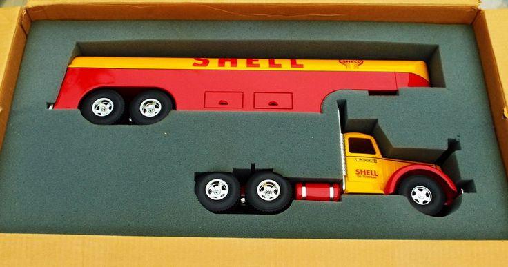 Smith-Miller SHELL Oil Company Truck Tanker ( Road Warrior ) Beauty HUGE Art  #SmithMiller #Tanker