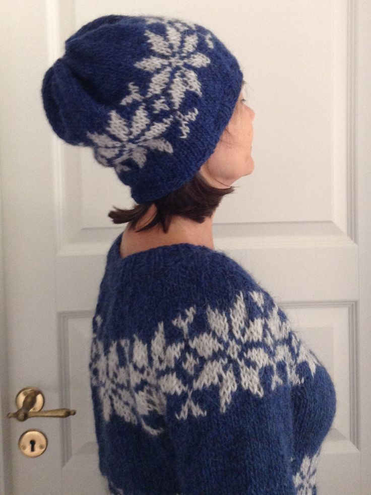 Sarah Lund handmade Icelandic sweater with hat from The Killing  - made to order from Frustrik Denmark