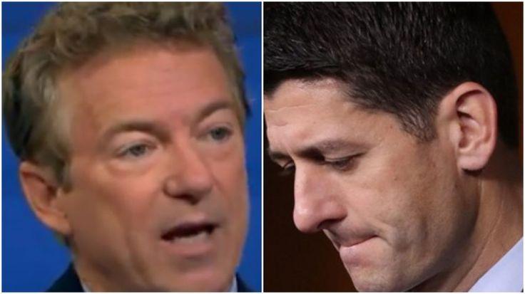 Rand Paul DESTROYS Paul Ryan's 'Binary Choice' Fallacy on Healthcare [VIDEO]