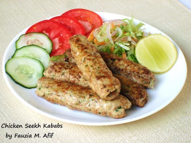 Chicken Seekh Kababs | Fauzia's Kitchen Fun