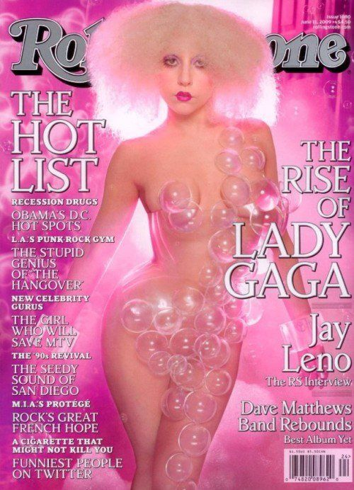 Pin for Later: 38 of the Hottest Nude Magazine Covers, Hands Down Lady Gaga For Rolling Stone, June 2009 Source: Rolling Stone