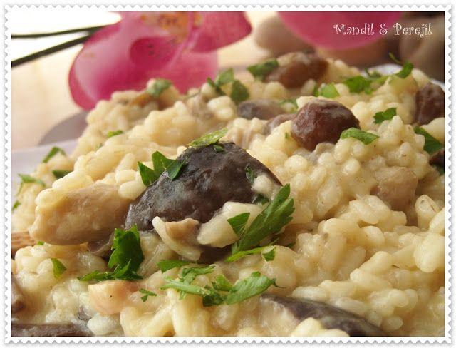 Cuando ví esta receta en el blog de Mary  CUCHILLITO Y TENEDOR , no pude resistirme a las imágenes tan divinas y decidí hacer el plato...