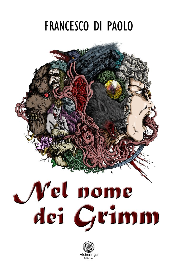 Copertina Variant a colori dell'ebook  [https://www.amazon.it/Nel-nome-Grimm-Rose-Deserto-ebook/dp/B01IK76EHC/ref=sr_1_1?s=digital-text&ie=UTF8&qid=1468673559&sr=1-1&keywords=nel+nome+dei+grimm] #NelNomeDeiGrimm #immortalità #vampiri #licantropi #streghe #grimm #leggenda #mito #favola #fantasy #franzful