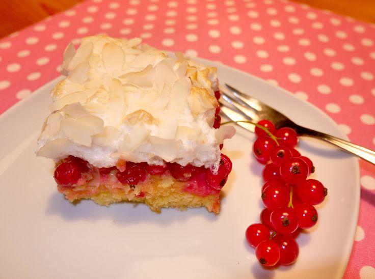 Ribiselkuchen mit Schneehaube: Mein allerliebster Sommerkuchen. <3