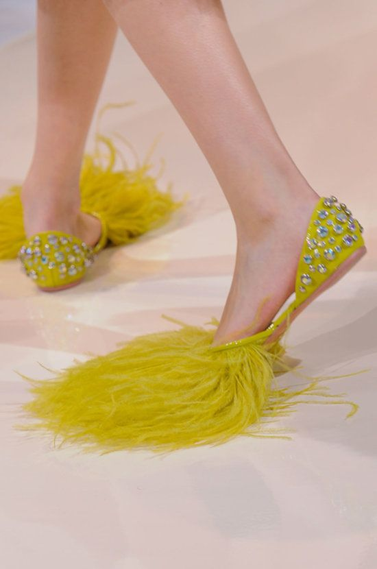 Best Shoes at Paris Fashion Week Spring 2014