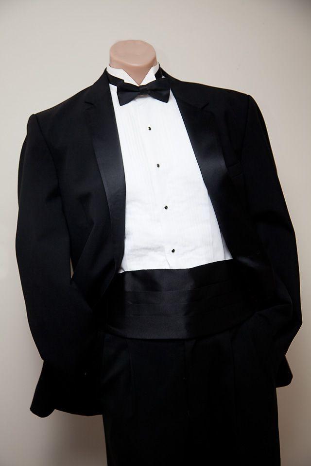 Tuxedo With Cummerbund Tuxedo For Men Tuxedo Wedding