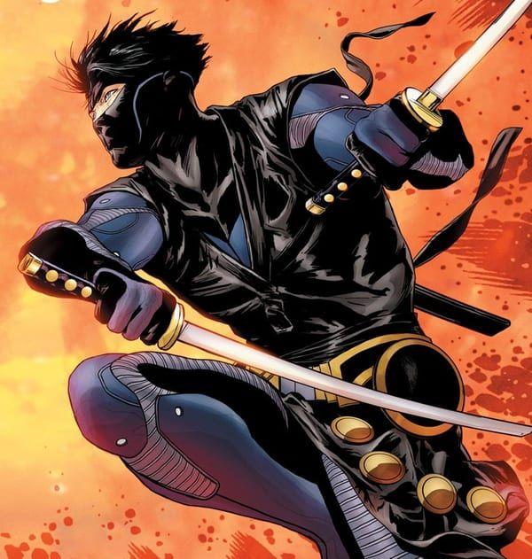 Ninjak in action! Image: Valiant Comics - W.B.