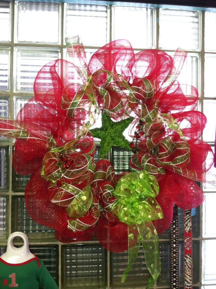 Wreath made by our very own. $45.00