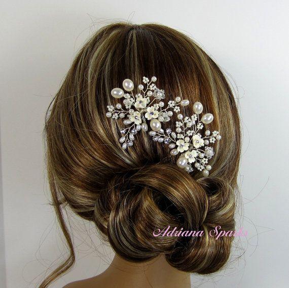 Novia flor de pelo Pin Pin de pelo de Candice boda
