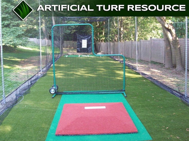 Backyard batting cage. Yes..my sons will have this. # ...