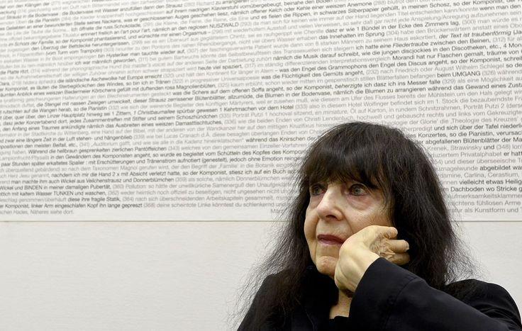 Ihre Sprache ist ein fliegender Teppich - Die große Dichterin Friederike Mayröcker wird am Samstag 90 Jahre alt. Mehr dazu hier: http://www.nachrichten.at/nachrichten/kultur/Ihre-Sprache-ist-ein-fliegender-Teppich;art16,1567299 (Bild: APA)