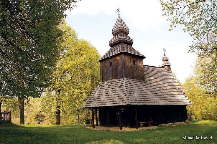 Slovakia, Ruská Bystrá - Wooden church