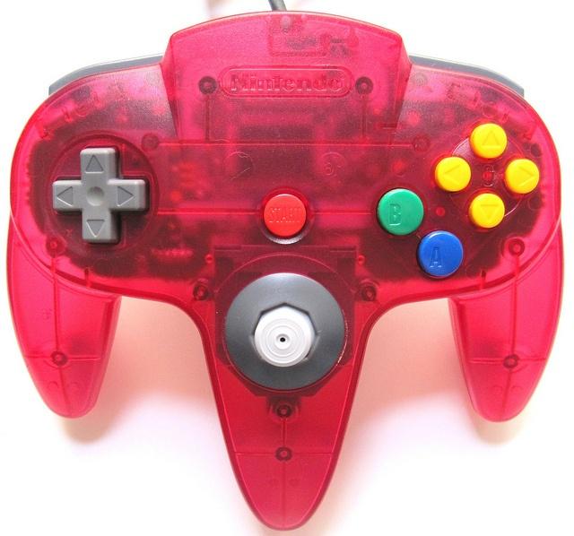 watermelon n64 controller nintendo 64 controllers nintendo