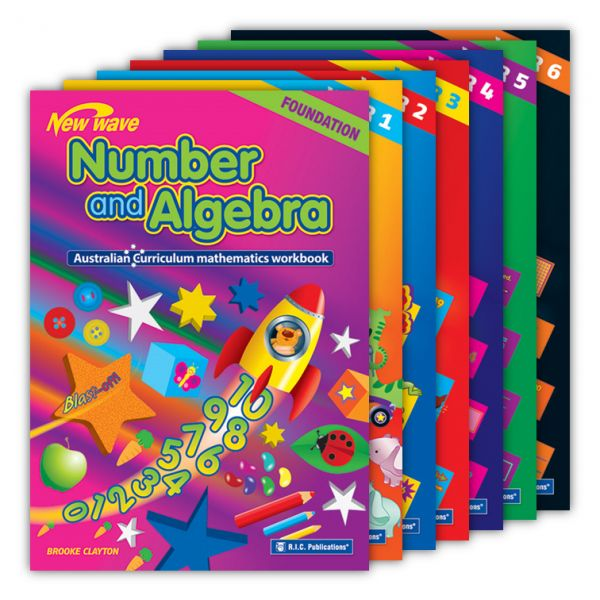 Australian Curriculum Mathematics - Number and Algebra Workbooks. New wave Number and Algebra (Foundation to Year 6) is a series of seven student workbooks written specifically to assist teachers to implement the Number and Algebra strand of the Australian Mathematics Curriculum.