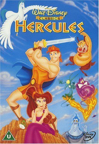 Hercules (Disney Movie 1997) The son of the Greek Gods Zeus and Hera is stripped of his immortality as an infant and must become a true hero in order to reclaim it.