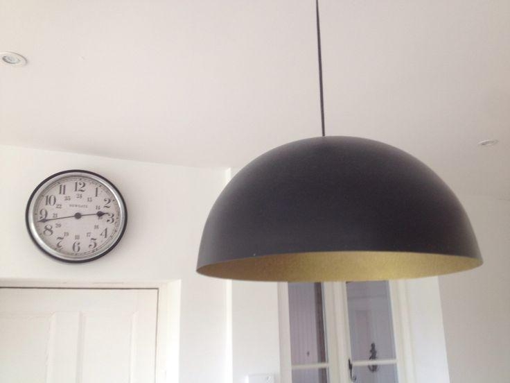New light shades Victorian house refurb