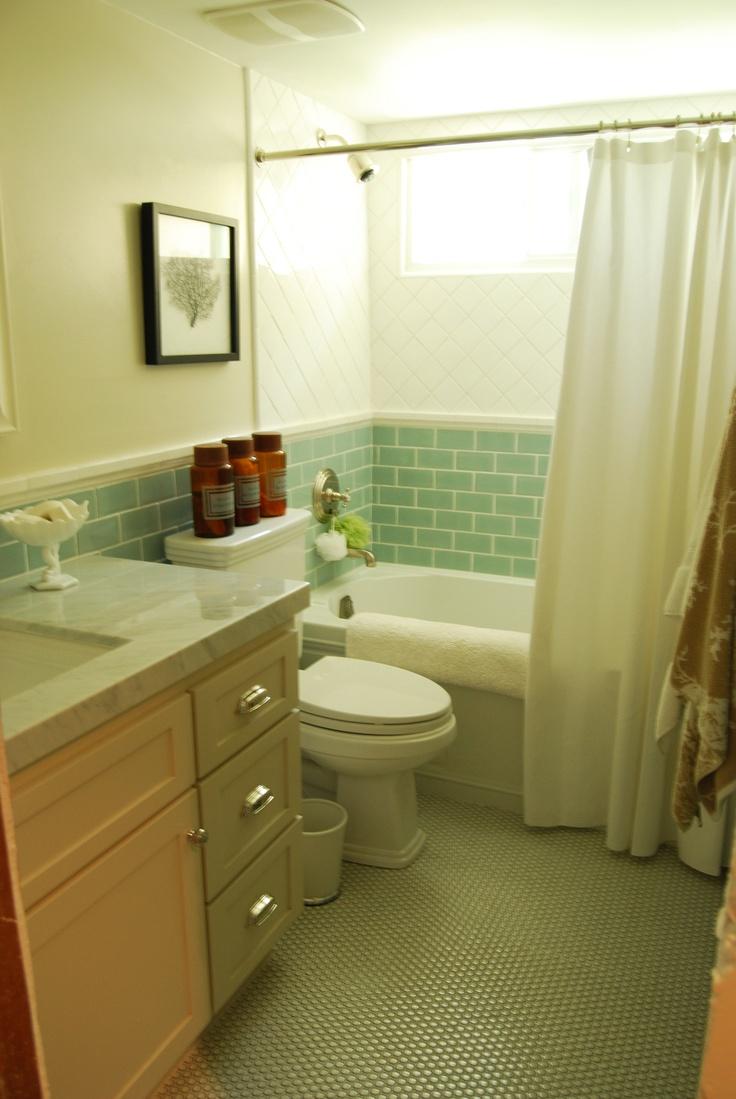 total bathroom remodel coastal and vintage - Total Bathroom Remodel