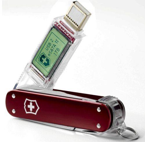 Victorinox Swiss Army knife has a 1TB thumb drive