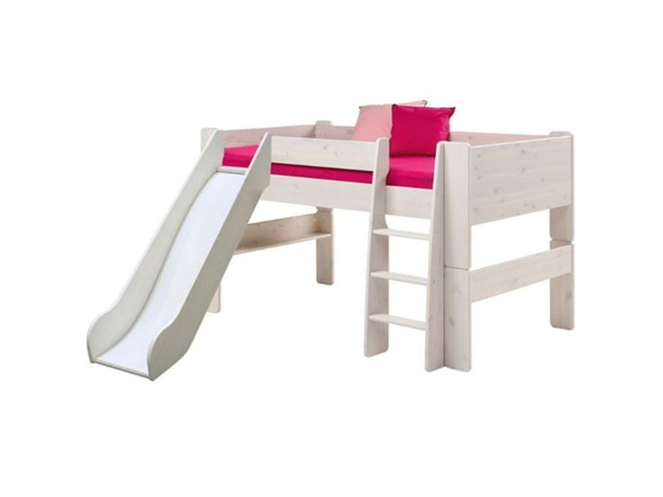 Steens Glossy White Mid Sleeper with Slide