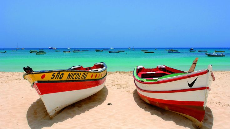 """""""THE CAPE VERDE ARCHIPELAGO"""" *** The wild and untouched natural beauty of these islands gives tourists very suggestive landscapes, from moonish volcanic scenery to a lush and intense green vegetation. The climate is mainly tropical with an average annual temperature of 26 °."""
