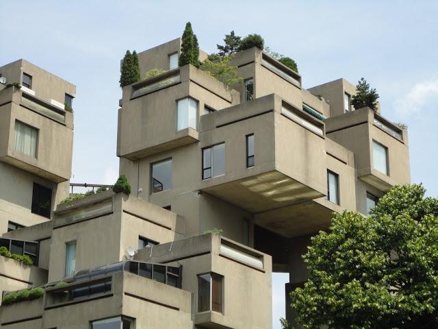 Habitat 67/Moshe Safdie@Montreal, Canada(1967)