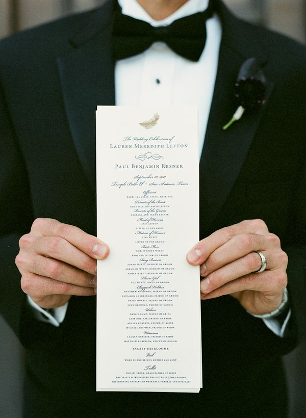 Best Wedding Ceremony Programs Images On