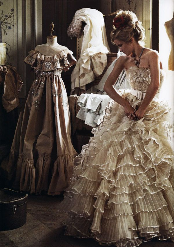 emma watson - italian vogue: Wedding Dressses, Fashion, Italian Vogue, Emmawatson, Emma Watson, Gowns, Dresses, The Dress, Ruffles