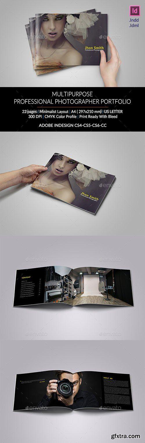 GraphicRiver Photographer Portfolio 11023532