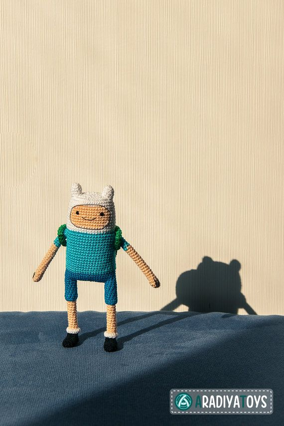 Hey, I found this really awesome Etsy listing at https://www.etsy.com/listing/180939895/crochet-pattern-of-finn-from-adventure