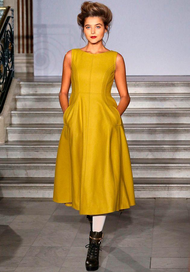 Фото: Красивые и модные теплые платья 2015-2016 (Фото)